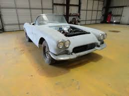 1961 corvette project for sale chevrolet corvette convertible 1961 gray for sale 10867s999999