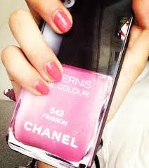 coco chanel phone case nail polish pink iphone 543