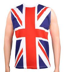 80 u0027s union jack def leppard uk flag sleeveless heavy metal shirt