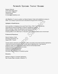 Sample Qa Tester Resume by Testing Resume 1 Essay Test Engineer Resume Sample Resume For Qtp