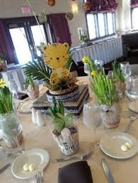 Safari Baby Shower Centerpiece by Golden Safari Baby Shower Unique Baby Showers Baby Boy Gold