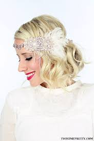 great gatsby headband 2 gorgeous gatsby hairstyles for or a wedding twist
