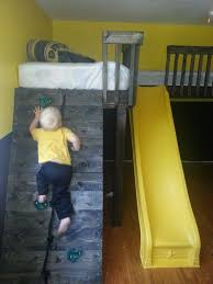 How To Build A Loft Bunk Bed With Stairs by Best 25 Climbing Wall Kids Ideas On Pinterest Indoor Climbing