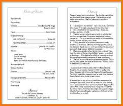 Funeral Programs Wording 7 Funeral Program Sample Itinerary Template Sample