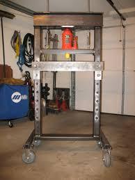 Round Garage Plans Welding Up A Hydraulic Press Grumpys Performance Garage