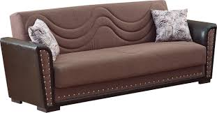 King Koil Sofa by Toronto Brown Fabric Sofa Bed By Empire Furniture Usa