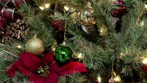 hanging tree ornaments stock footage 2637107