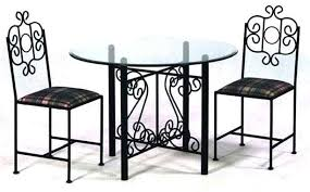 Rod Iron Dining Chairs Wrought Iron Dining Table Set Fantastic Iron Dining Chairs With
