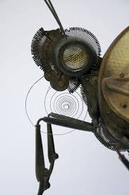 intricate animals made from scrap metal and auto parts twistedsifter