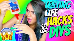 diy hacks youtube diy life hacks tested nichole jacklyne youtube