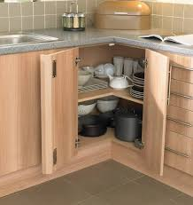 Corner Cabinet With Glass Doors Best 25 Corner Cabinet Kitchen Ideas On Pinterest Two Cabinets For
