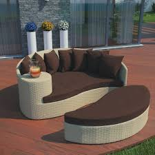 Outdoor Wicker Patio Furniture Round Canopy Bed Daybed - round patio daybed u2014 outdoor chair furniture ideas for patio daybed