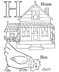 coloring pages with letter h alphabet coloring pages letter h free printable farm abc
