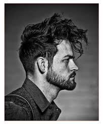 medium wavy hairstyles men together with messy hairstyles men2