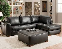 classic black two piece couch capri black 2 pc sectional sofa