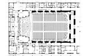 orchestra floor plan jfk center concert hall renovation hartman cox architects