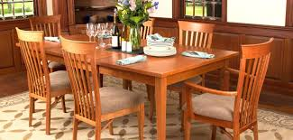 shaker style dining room table plans and chairs furniture round