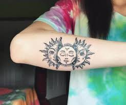50 sun and moon tattoos ideas for couples 2017 tattoosboygirl