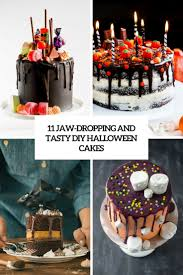 chocolate halloween cakes 11 jaw dropping and tasty diy halloween cakes shelterness