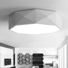 plafonnier pour chambre géométrie creative led plafonnier pour chambre blanc cuisine plafond