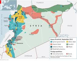 Syria On A Map by A Game Changer In Latakia