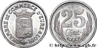 chambre de commerce de l eure chambre de commerce d eure loir 25 centimes fnc 237246 nécessité