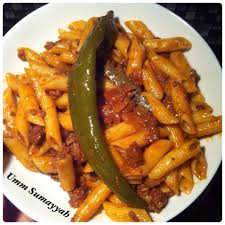 la cuisine gourmande pâtes tunisiennes à la viande hachée la cuisine gourmande d umm