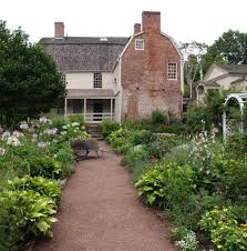 colonial u0026 colonial revival garden design old house restoration