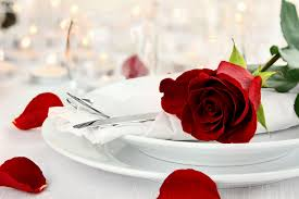 Romantic Table Settings | show some love this valentines day with a romantic table setting