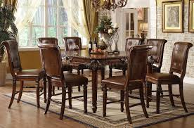 Beautiful  Piece Counter Height Dining Room Sets Ideas Room - High dining room chairs