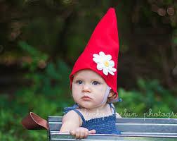 Lawn Gnome Halloween Costume Gnome Hat Beard Costume Baby Toddler Child Halloween