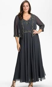 other jkara beaded chiffon jacket dress size 16 of the