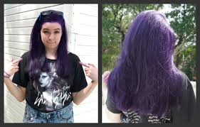 what to dye your hair when its black how to dye your hair purple no bleach youtube