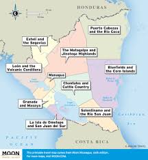 Central America And The Caribbean Map by Printable Travel Maps Of Central America Moon Travel Guides