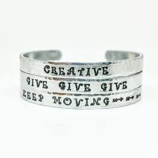 Personalized Cuff Bracelet Bracelets U2013 Jenna Scifres Handmade Jewelry