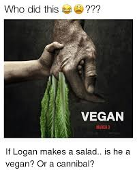 Vegan Meme - who did this vegan march 3 vegan meme on me me