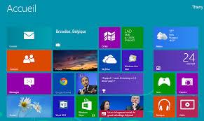 windows 8 bureau classique le marché informatique