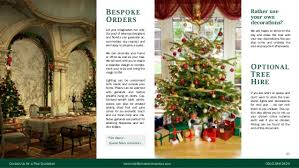 Decorated Christmas Tree Hire by Christmas Decoration Service Brochure