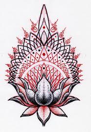 lotus pattern by jontoogood on deviantart