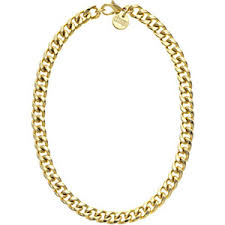 1ar by unoaerre 1ar by unoaerre florentine curb chain necklace in gold