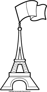 Home Of The Eifell Tower Free Eiffel Tower Clipart