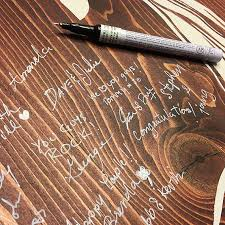 wedding guest book pen wedding pens wood guestbook marker archival pens