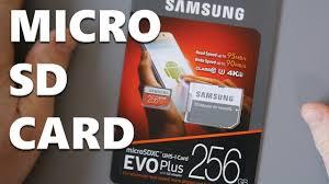Memory Card Samsung 256gb samsung 256gb evo plus terrible mobile performance