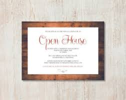 open house invitation open house invite etsy