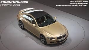 bmw ontario hd bmw individual m6 ontario gold delivery carson