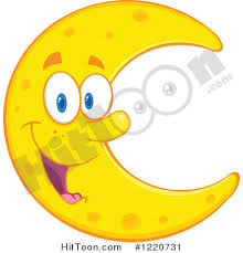 moon clipart moon clipart 1220731 happy crescent moon mascot by hit