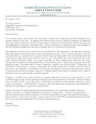 psychology internship cover letter 28 images cover letter for