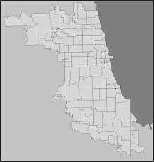 Chicago Neighborhood Map Population Distribution By Race And Ethnicity In Chicago Chicago
