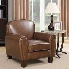 Club Armchair Leather Chairs Costco