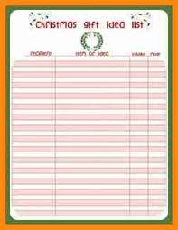christmas shopping list 7 christmas shopping list organizer driver resume in christmas